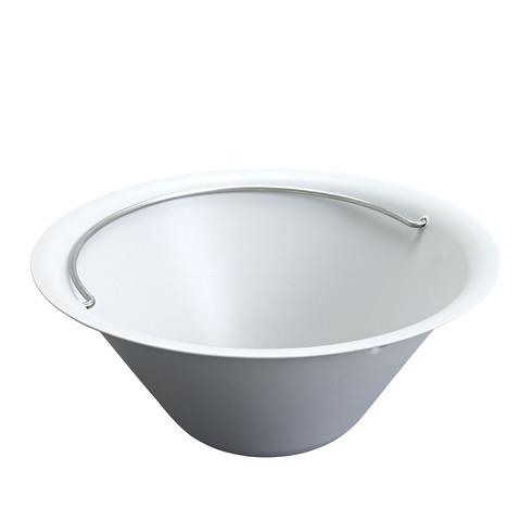 Bells Side Table Ice Bucket In Grey