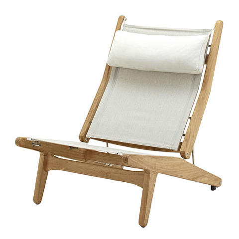 Bay Reclining Chair With Seagull Slings And Quartz Headrest