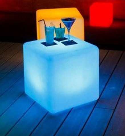 Cube Stool LED Light
