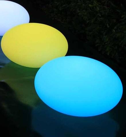 Flat Ball Medium LED Light