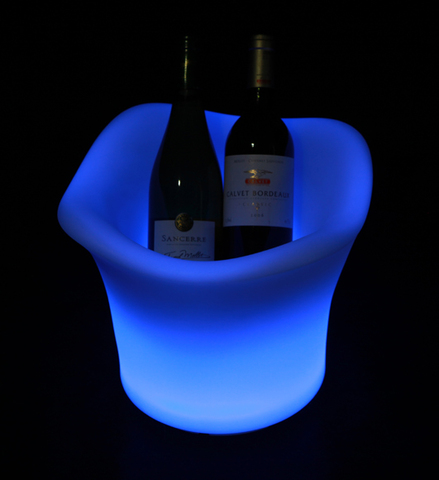 Champagne Ice Bucket LED Light