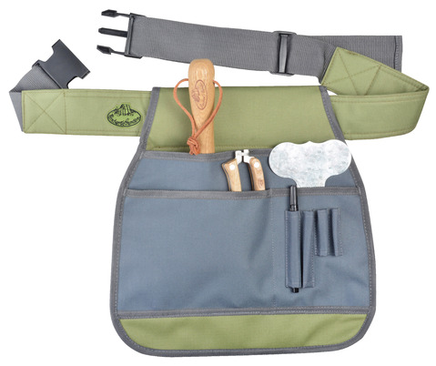 Garden Tool Belt Grey & Sage