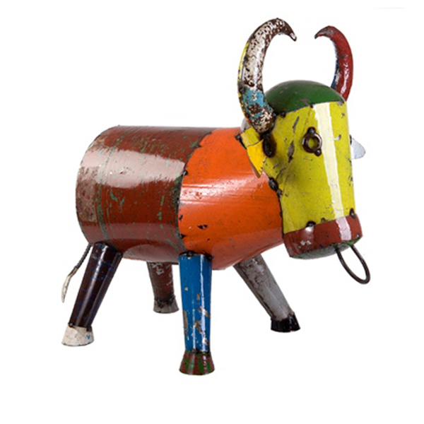 Bruce the Bull Sculpture - Medium