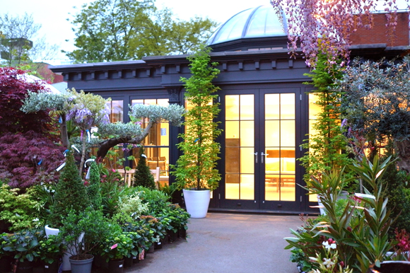 David Salisbury Orangery at The Chelsea Gardener