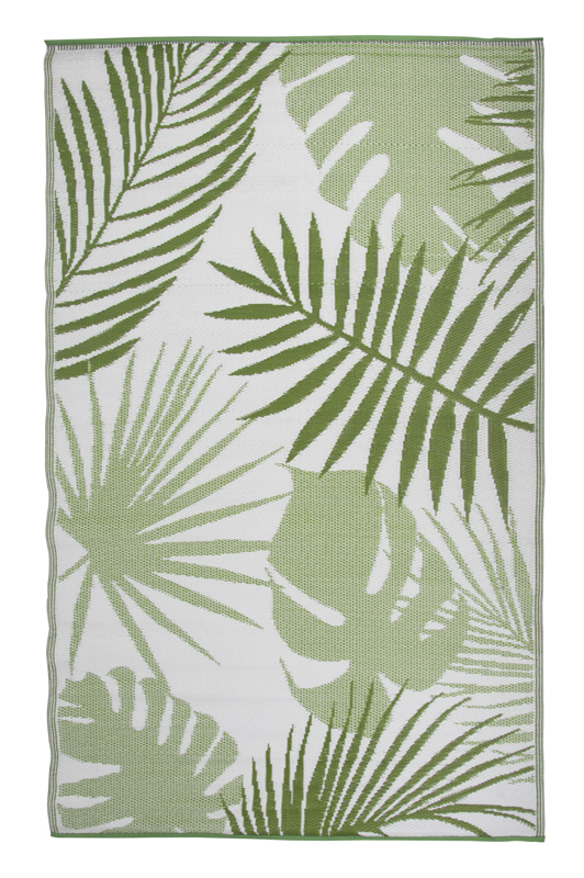 Outdoor Rug Tropical Leaf