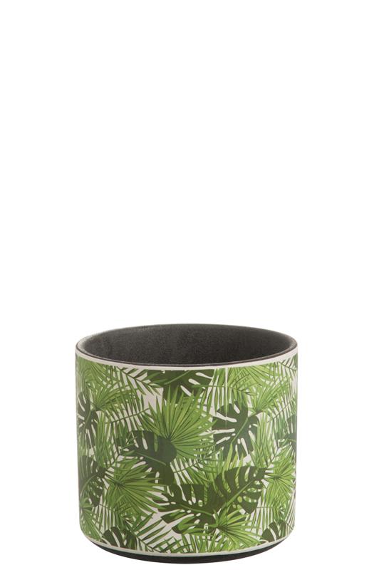 Cachepot Tropical D18cm