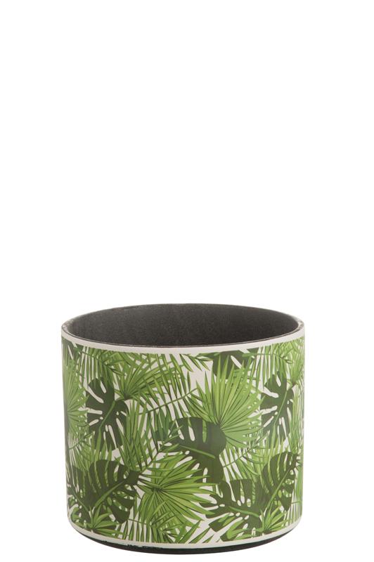 Cachepot Tropical D22cm