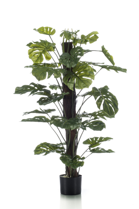 Artificial Monstera on Pole 120cm