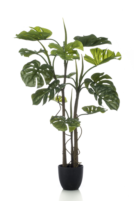 Artificial Monstera with Roots 120cm