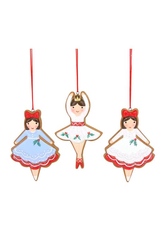 Iced Gingerbread Ballerinas