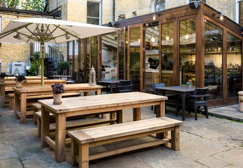 The Chelsea Courtyard Bar & Cafe