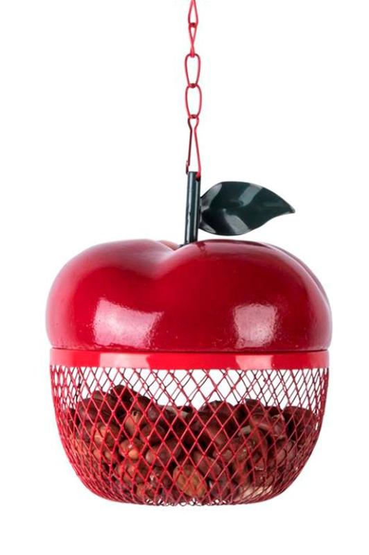 Apple Peanut Bird Feeder