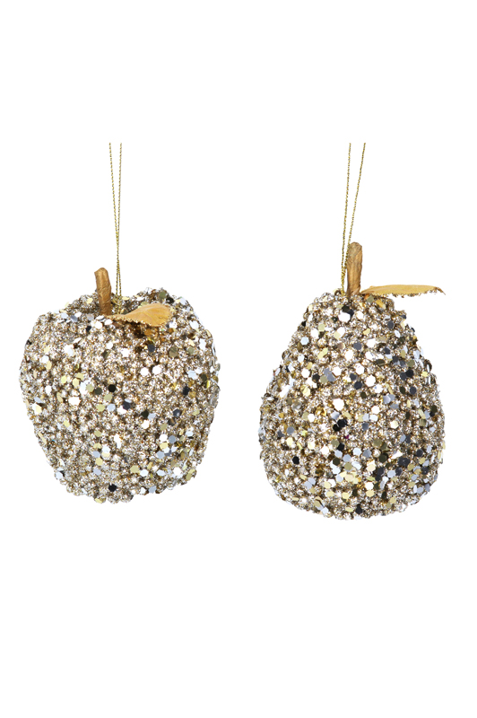 Pale Gold Sequin Apple/Pear