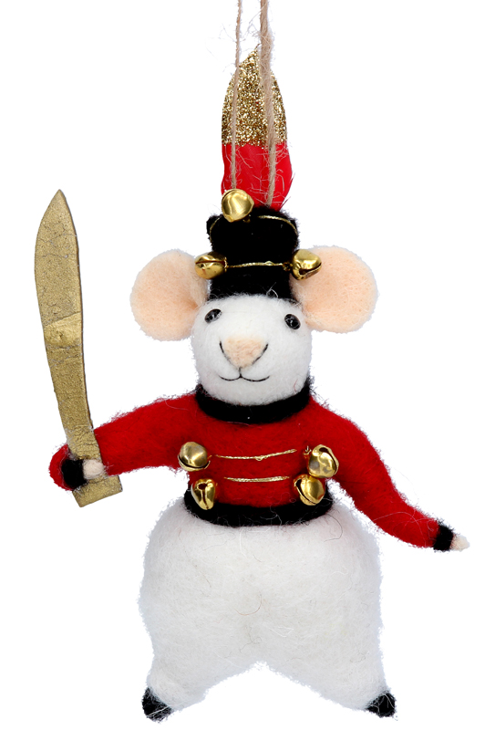 Wool Mix Mouse Soldier
