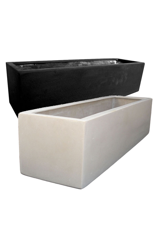 Large Trough Black 65cm