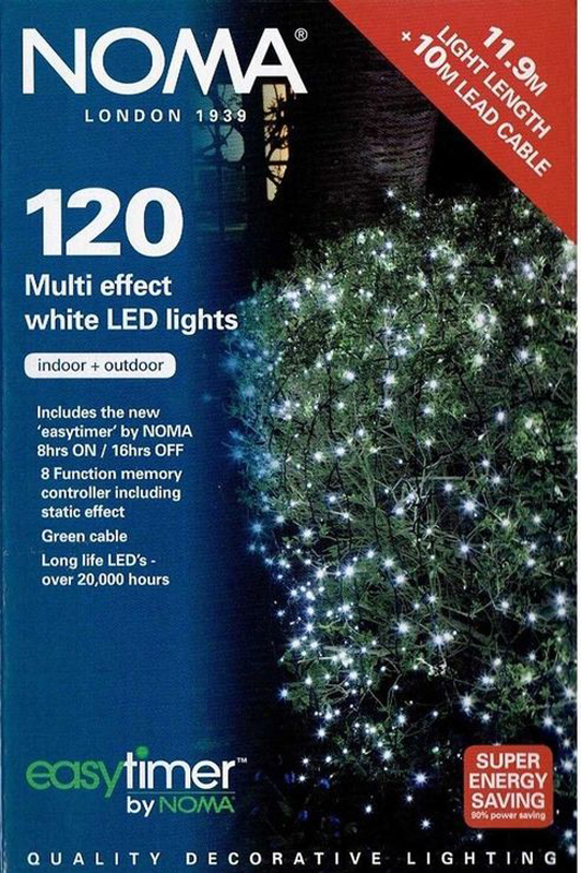 Indoor/Outdoor 120 LED, Warm White