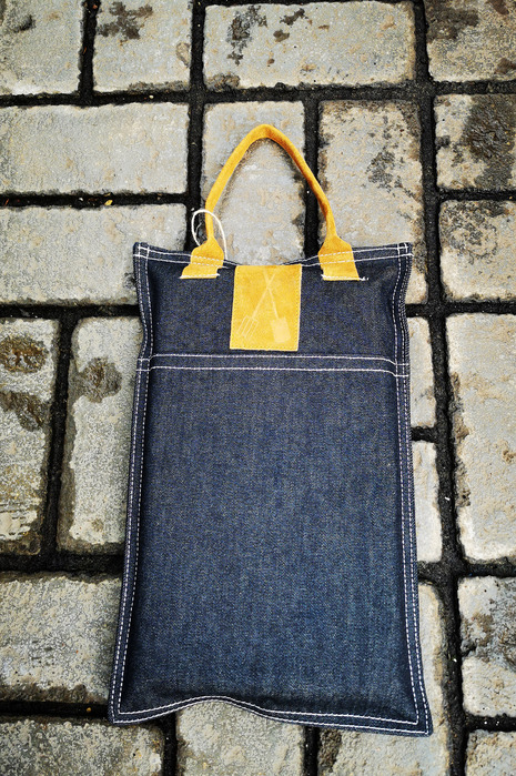 Denim Garden Kneeler
