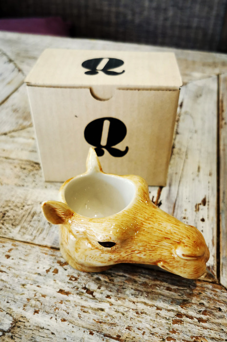 Egg Cup Camel Face