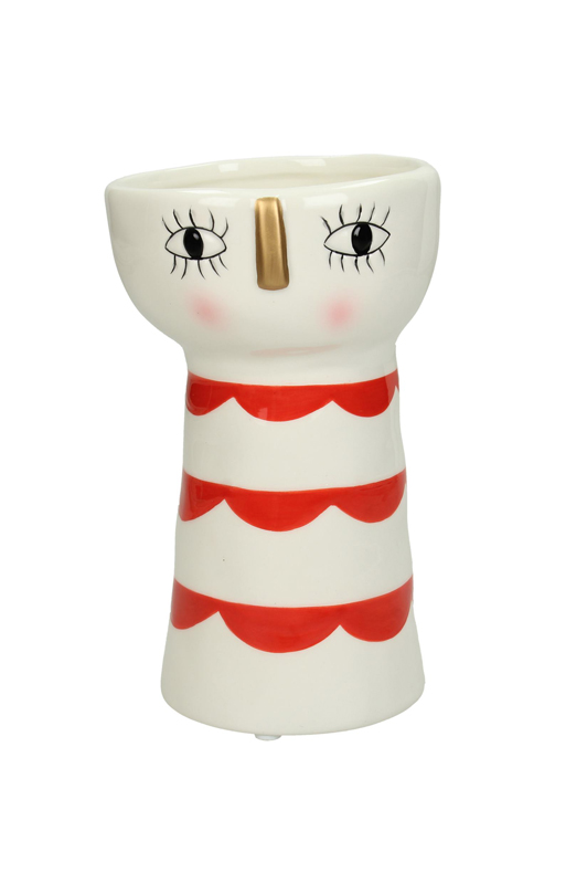 Face Planter with Red Stripes