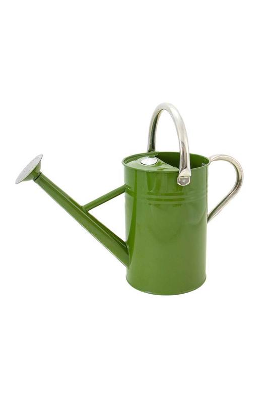 4.5L Metal Watering Can - Tweed Green