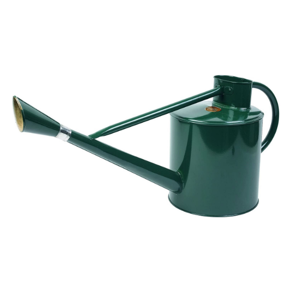 Metal Long Reach Watering Can - Forest Green 9L