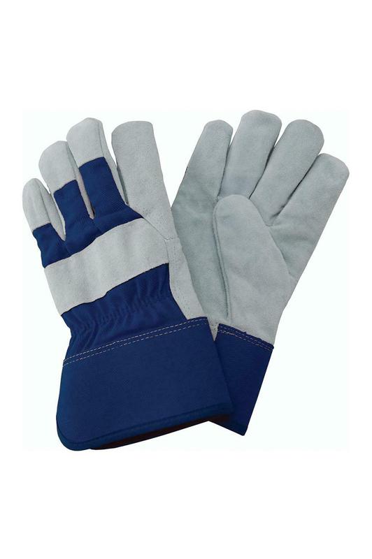 Fleece Lined Rigger Gloves - Ladies Medium