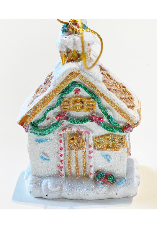 Resin/Sugared Gingerbread House