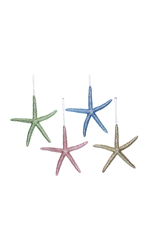 Pastel Glitter Starfish
