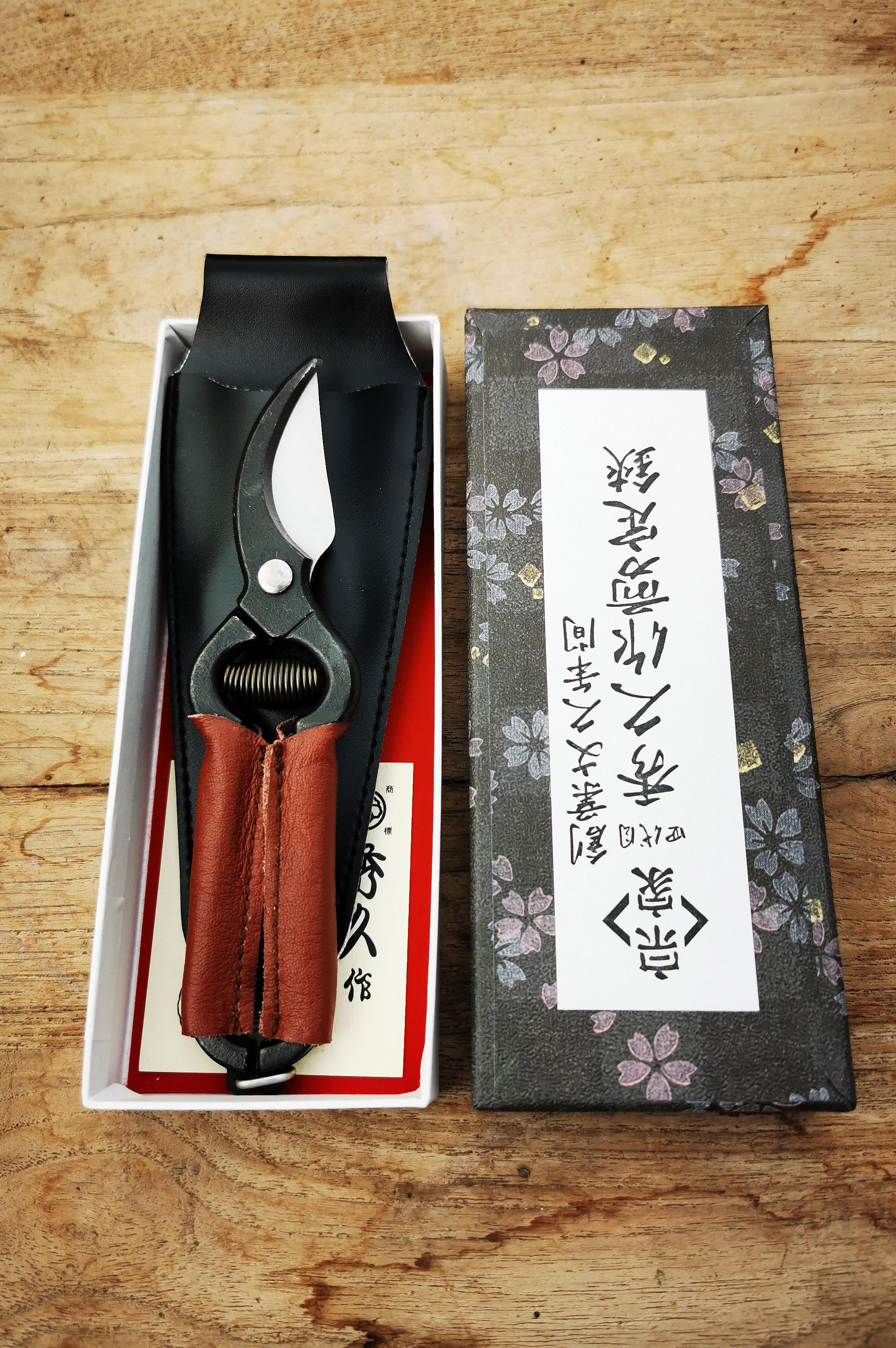 Niwaki Mini Secateur Leather
